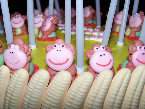 Image Result For Monkey Birthday Cake