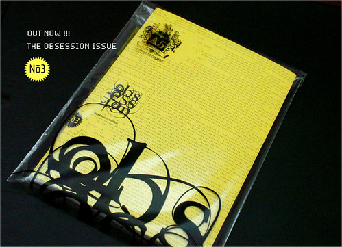 NO.3 - THE OBSESSION ISSUE | by A5 Magazine