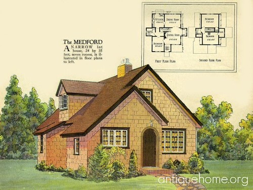 radford house plan english cottage style by daily bungalow - English Cottage House Plans