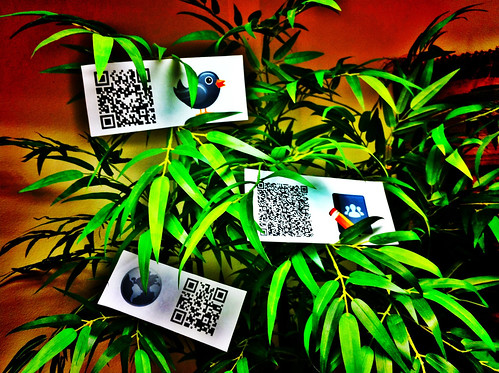 Qr code flock | by Tomasz Stasiuk