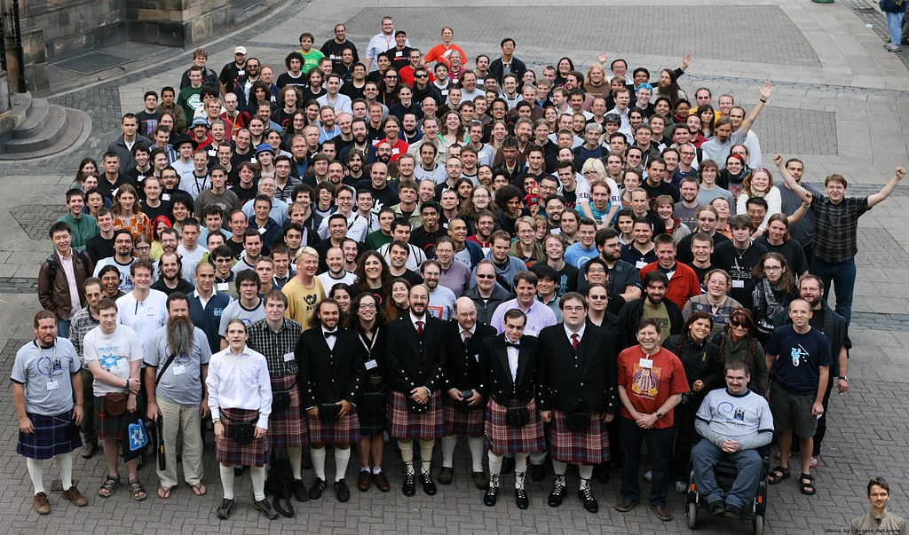 Debconf 7 Group Photo | New an...