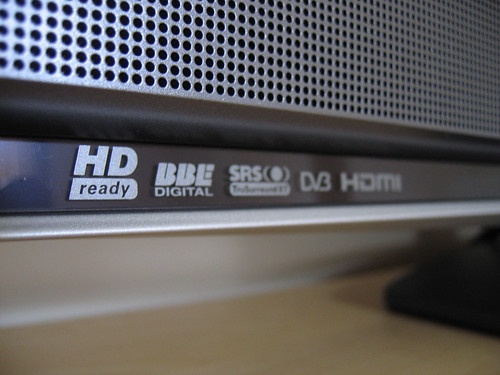 Sony KDL-40W2000 LCD HDTV (Logos) | by William Hook