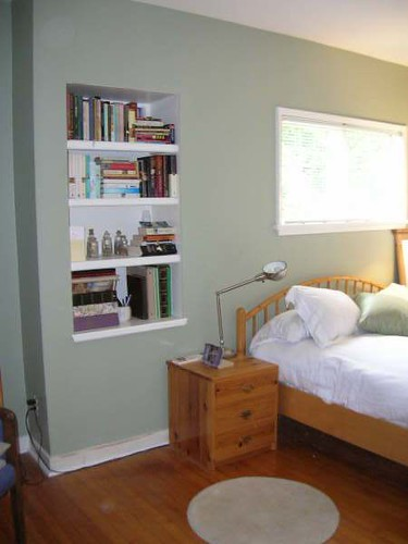 New Inset Bookshelf