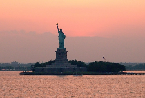 Statue of Liberty at Sunset | by Michael from NYC