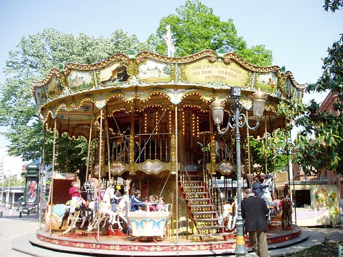 Carousel, Place Wilson, Toulouse | by Vintage Lulu