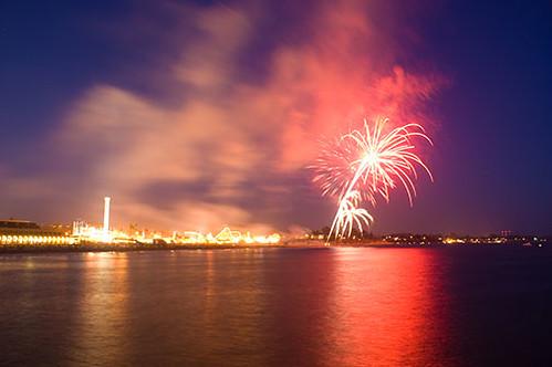 Image result for Santa Cruz Beach Boardwalk new year