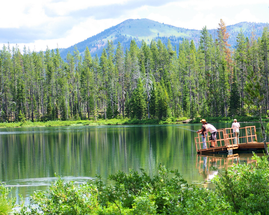 Martin Lake Next To Bull Trout Campground Idaho Mike Goad Flickr