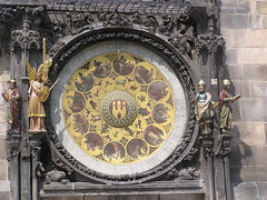 Calendar below the Prague Astronomical Clock | by dungodung