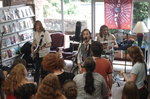 wizard rock bands: remus lupins and the whomping willows @ the library! | by Asheboro Public Library