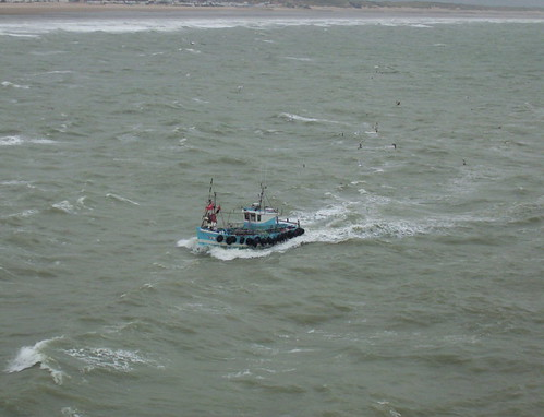 Fishing boat heading into Calais | by jane_sanders