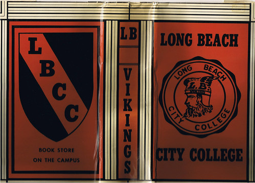 College Cookbook Cover : Old lbcc long beach city college book cover anyone