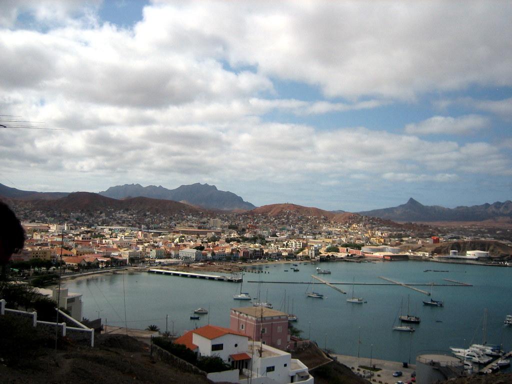 Cabo Verde Isla De San Vicente Mindelo La Capital De La