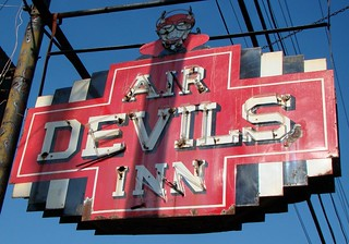 KY, Louisville-KY 155 Air Devils Inn Neon Sign | by Alan C of Marion,IN