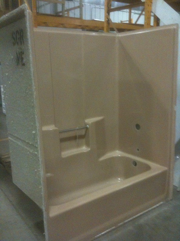One-Piece Tub and Shower Unit | Building Hope Eau Claire | Flickr
