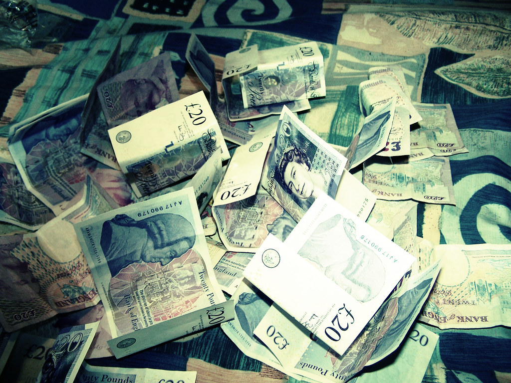Money fight!