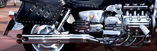Chrome Motorbike | by Dominic's pics