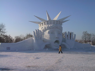 Lady Liberty in Harbin, China | by Global Eyes
