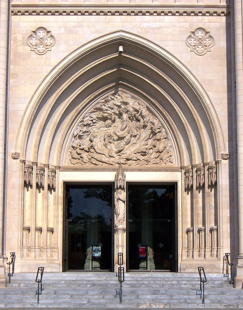 ... DC National Cathedral center front doors | by army.arch & Washington DC National Cathedral center front doors | Flickr