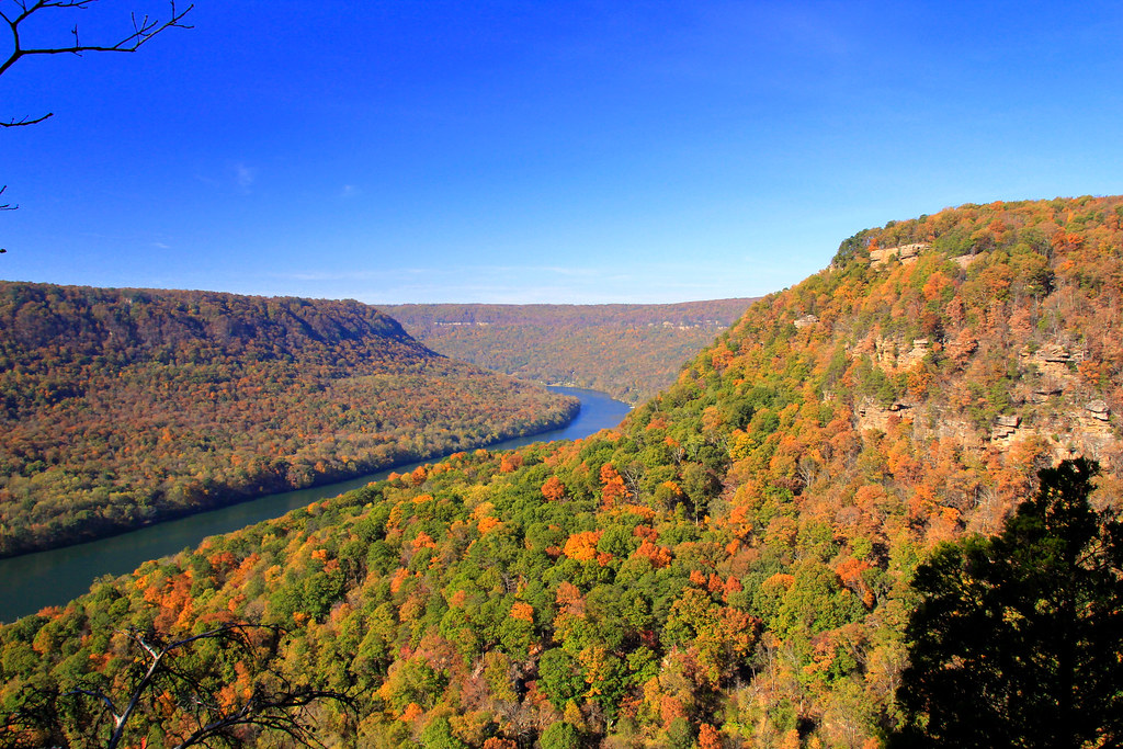 Image of a beautiful view in Signal Mountain. Chattanooga Real Estate: Top 10 Hidden Gems in Chattanooga, TN.