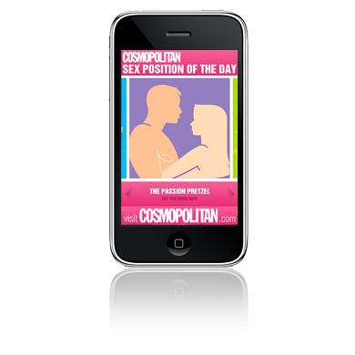 Cosmo sex position app