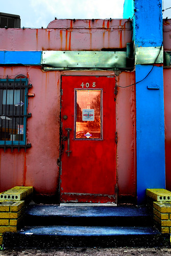 Diner Door Jefferson Street - Oak Cliff, Texas | by crowt59