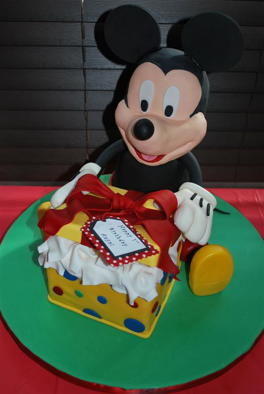 Mickey Birthday Cake Mickey Mouse Birthday Cake For My Nie Flickr