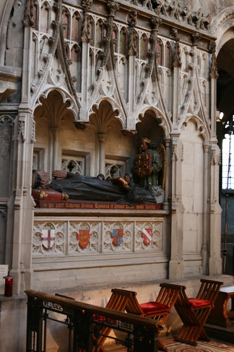 Rahere's tomb, St Bartholomew the Great | by Cassidy