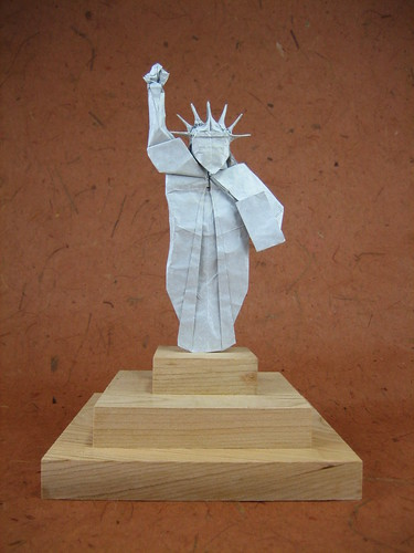statue of liberty designed on december 2004 paper one un flickr. Black Bedroom Furniture Sets. Home Design Ideas