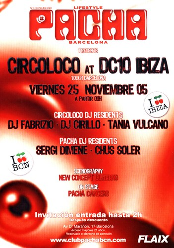 [2005-11-25] Pacha BCN - Circoloco Party [2] | by ovokx