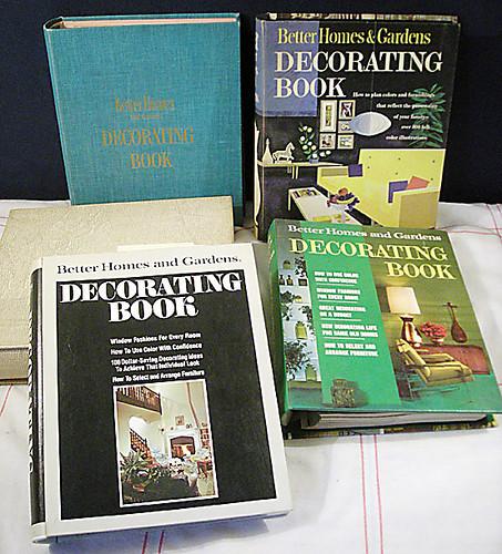 Better Homes & Gardens Decorating Books