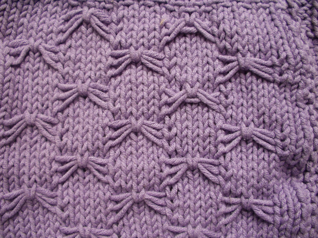 Knitting Butterfly Stitch Pattern : Knitting stitch patterns Flickr