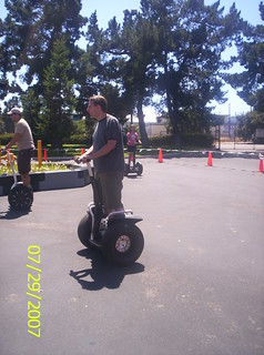 Tom on a Segway @ Camp Yahoo 2007 | by supertomcom