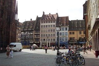 Strasbourg downtown square | by ChristinaT