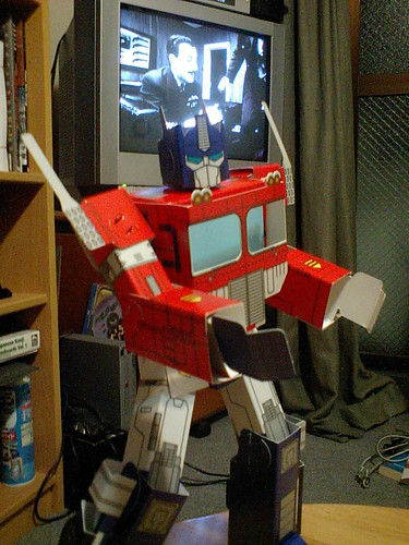Papercraft Optimus Prime | I picked it up after seeing ...