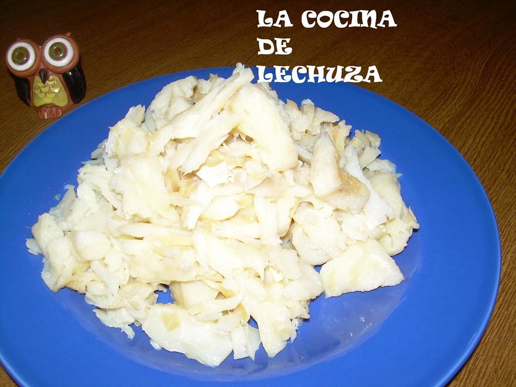 Bacalao Bolitas Desmenuzado Una Lechuza En La Cocina Flickr