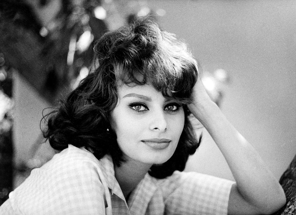 Image result for young Sophia Loren