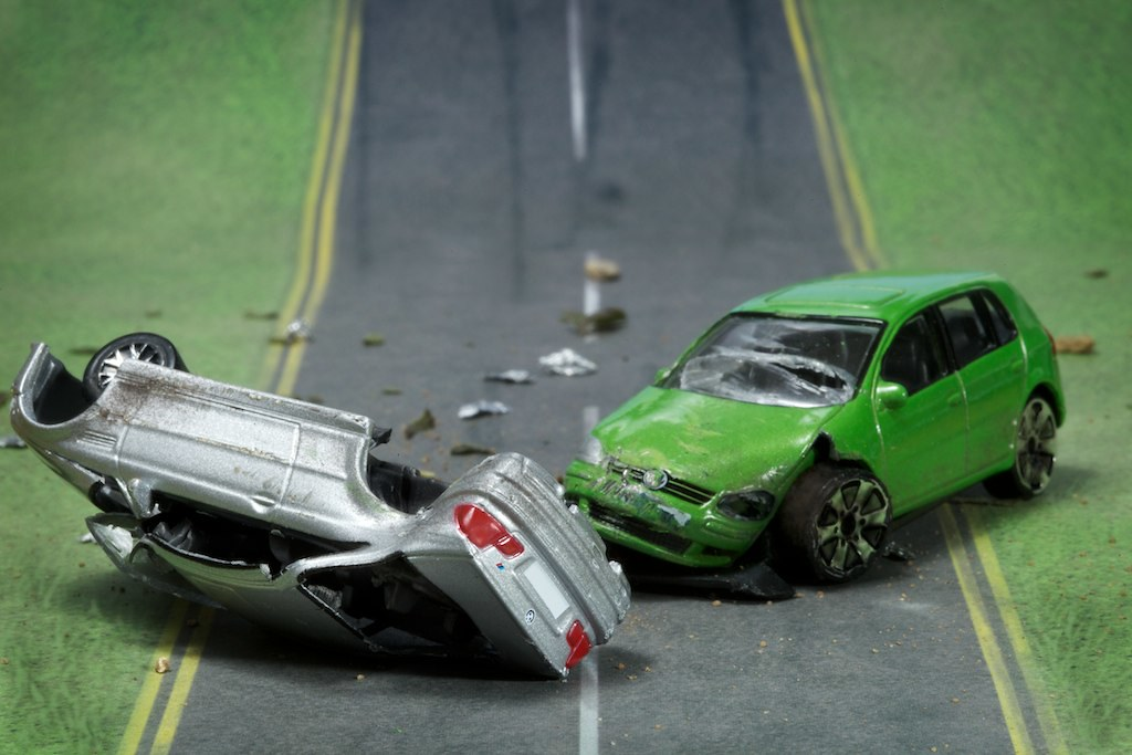 Nasty Car Crash Golf And Bmw Toy Cars Toy Cars Involved Flickr