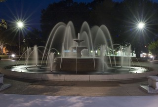 Wilson Park Fountain Night | by KE4SFQ
