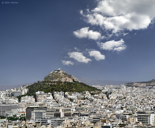 Athens from the Acropolis | by Ben Heine