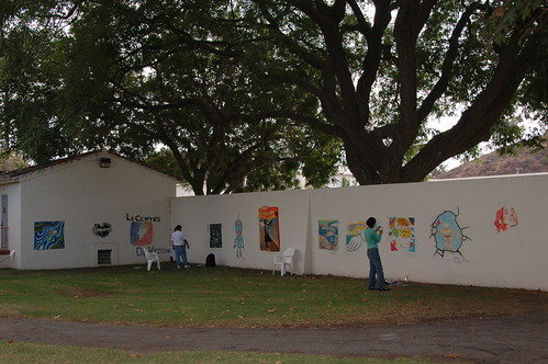 Overview of North facing wall of Art Walk | by California State University Channel Islands