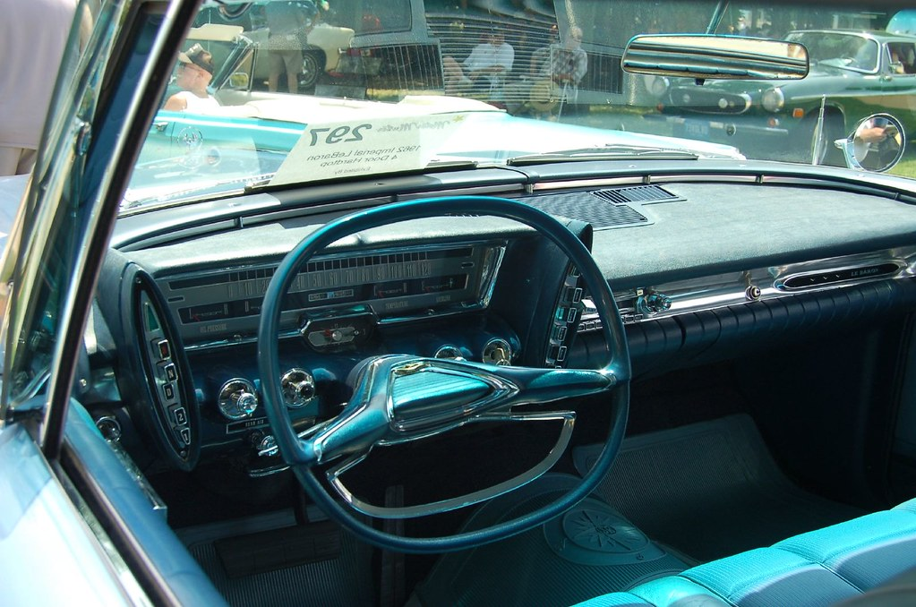 Chrysler imperial interior