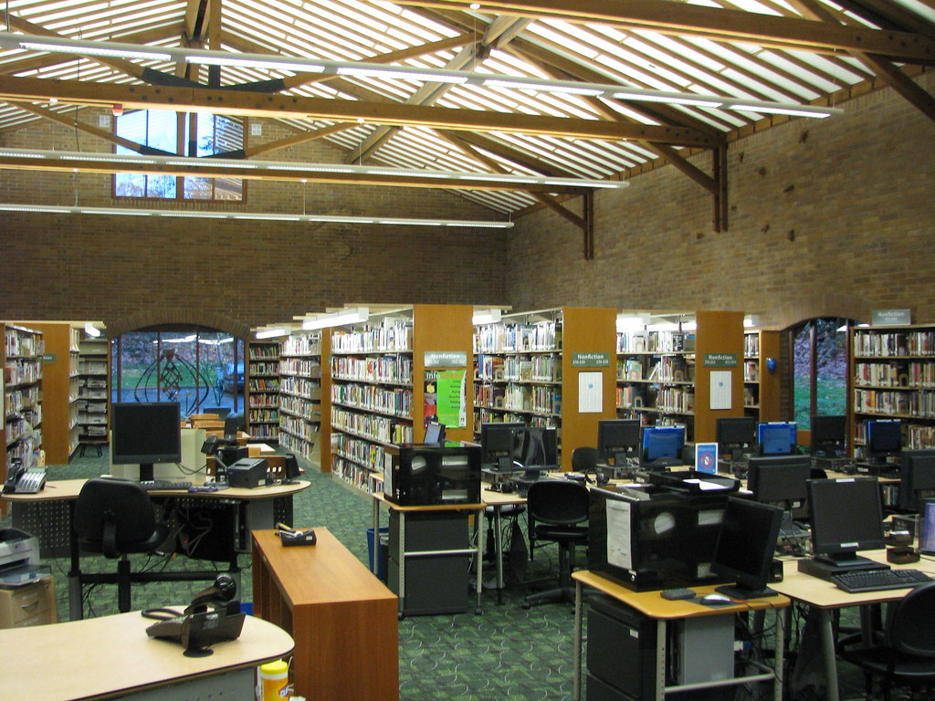 Newport Way Library Before The Remodel Jason Allen Flickr