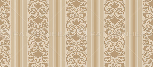 Vintage Striped Wallpaper Pattern