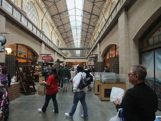 SFO Day 2: Inside the Ferry Market Building | by swampkitty