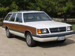 1986 Dodge Aries Woody Wagon 2 Guy Coulombe Flickr