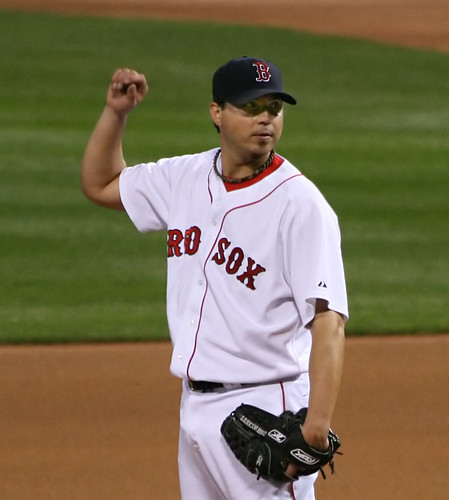 don't interrupt my pitching routine, don't you know I'm Josh Beckett? | by Boston Wolverine