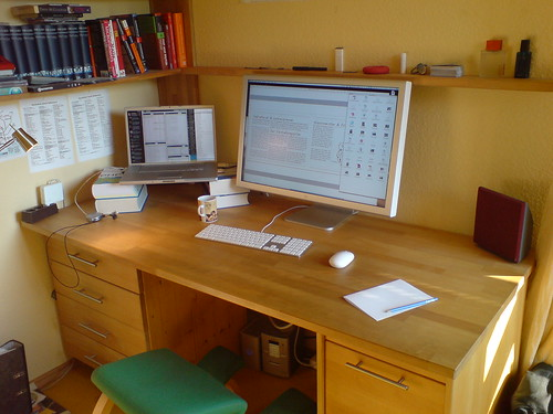 My Desk | by Julian J. Schrader