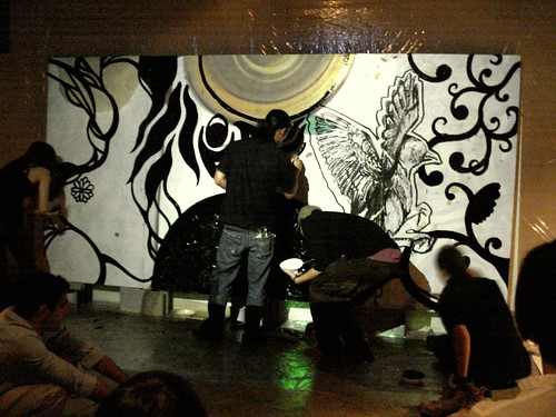 Live Painting by Rinpa Eshidan | by jusan