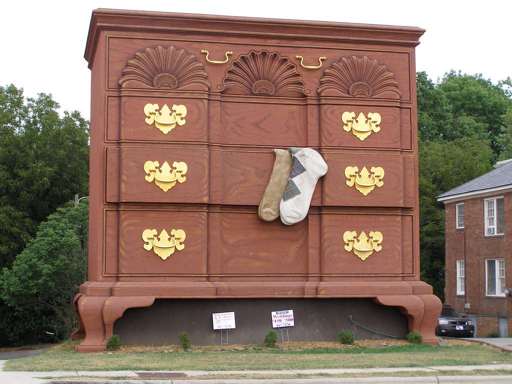 Merveilleux ... Giant Dresser: High Point, NC   By Brooks Jones