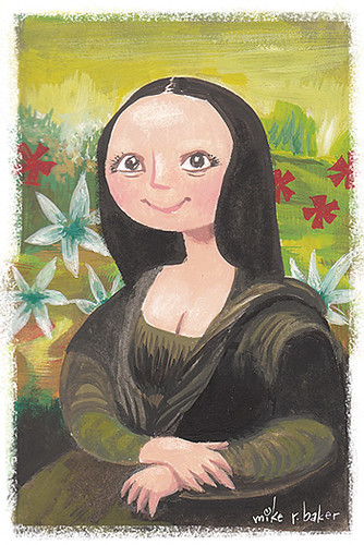 mona lisa | by mike r baker